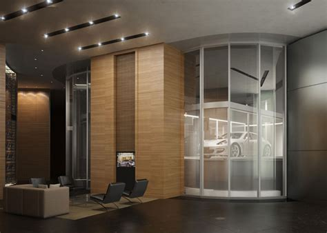 porsche design tower car elevator porsche design tower miami with drive in apartments