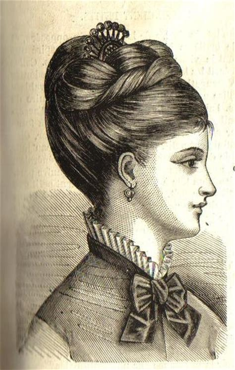 womens 1904 hairstyles 83 best 19th century hair images on pinterest