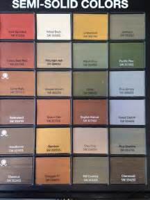 sherwin williams stain colors sherwin williams semi solid stains for deck fence