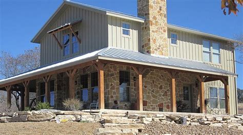 barn style house plans with wrap around porch lovely metal ranch home w wrap around porch in texas hq