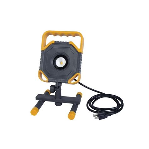 portable led work lights shop utilitech 1500 lumen led portable work light at lowes com