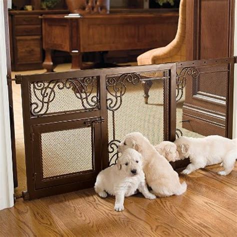 expandable dog gates for the house best dog gates for the home tip junkie
