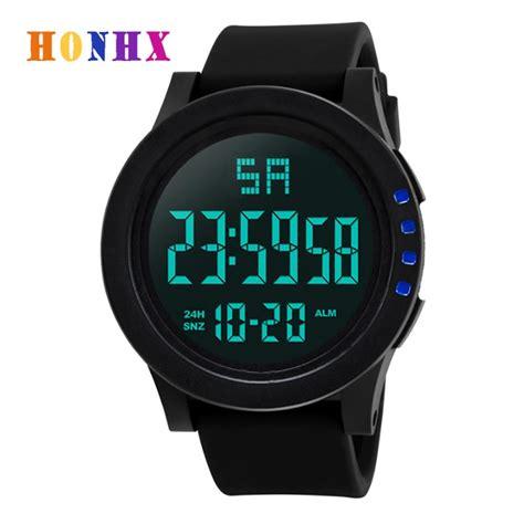 honhx brand mens fashion sport  luxury male waterproof digital  military clockss