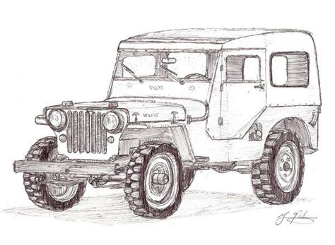 Sheets Jeep 34 Best Jeep Coloring Book Images On