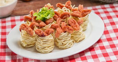 Dasar Dasar Food Product Dilengkapi Dengan Resep Resep Istimewa cara membuat masakan lezat dengan bahan dasar mie sedap vebma
