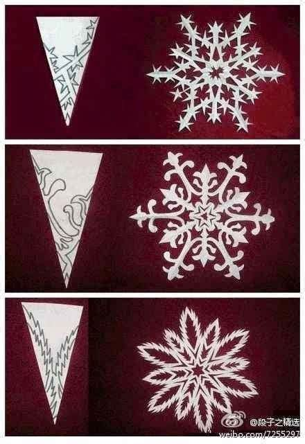 Make A Snowflake Out Of Paper - diy paper medallions miniaturized diy paper snowflakes