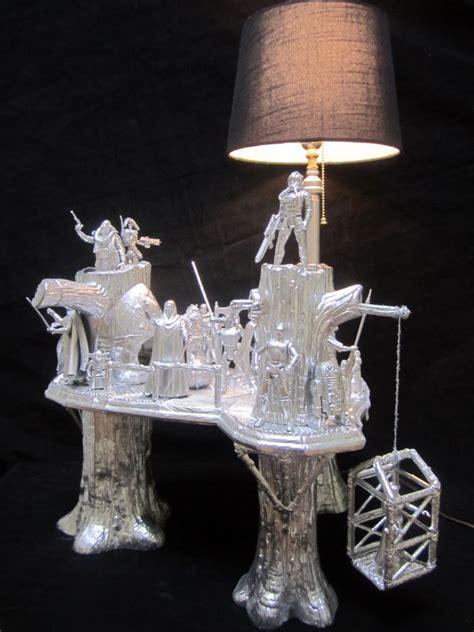 star wars ewok village lamp endor  shinier