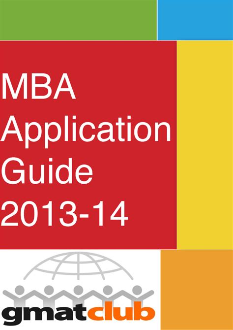 Mba Guide by Gmat Club Mba Application Guide 2013 2014 Authorstream