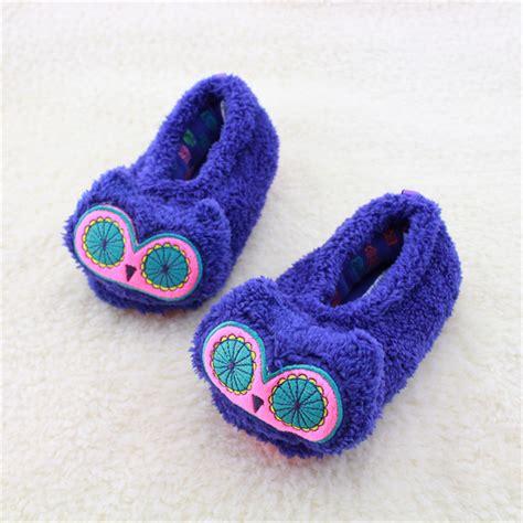 kids house slippers unisex winter children slippers cute animal kids slippers cute animal warm kids house