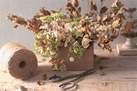 composizione fiori fai da te fai da te composizione con fiori essiccati