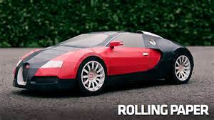 How Many Bugatti Veyrons Are Made How To Make A 1 6 Million Bugatti Veyron Out Of Paper