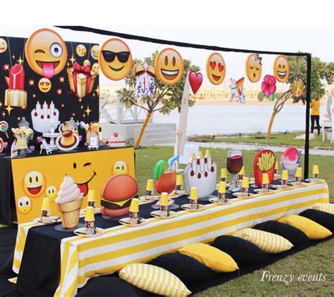 emoji party emoji party styrofoam pinterest emoji birthdays and