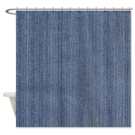 denim shower curtain blue denim jean shower curtain on