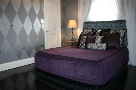 purple and silver room deep purple and silver not so little girl room pinterest