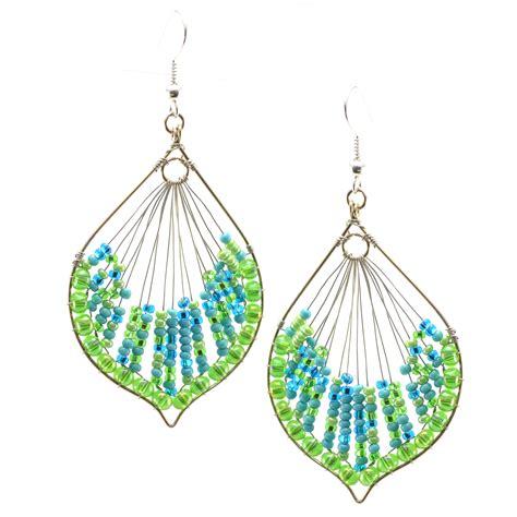 Import Earrings cleo earring earrings handmade guatemalan imports