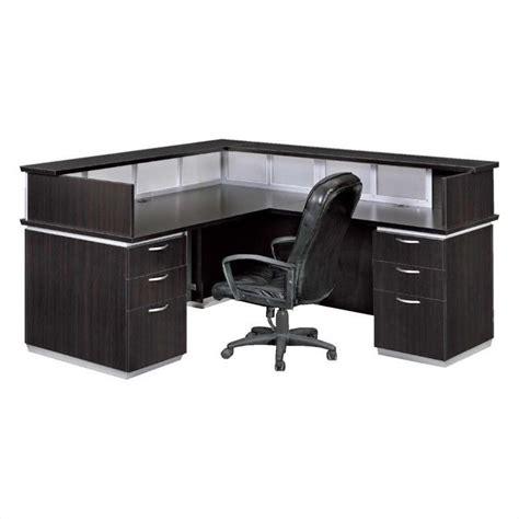 flexsteel office furniture flexsteel pimlico laminate right reception desk 7020 66fp