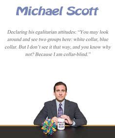 Michael Collar Blind quotables on michael the office and office quotes