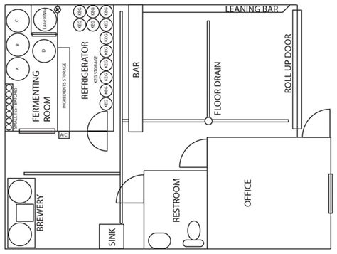 Floorplan Of A House meet magnetic brewing san diego reader