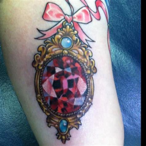 cross tattoo with jewels 15 jazzy jewel tattoo design ideas