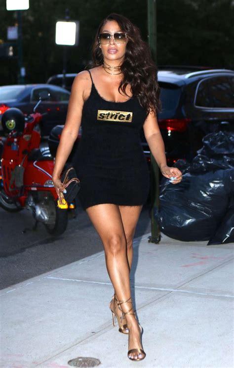 Lala Dress la la anthony in black mini dress 07 gotceleb