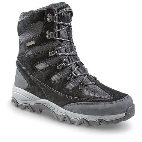 s winter boots waterproof insulated guide gear s zippel bay insulated waterproof winter