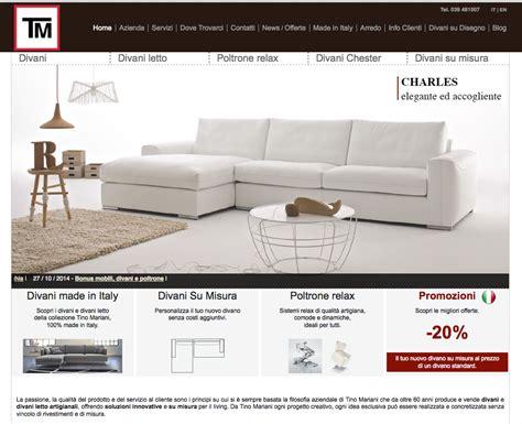 nuova home divani tino mariani nuova home page tino mariani