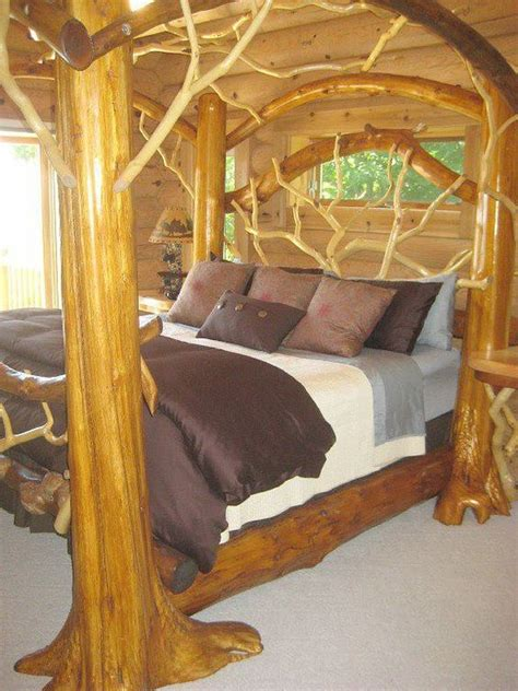 Tree Branch Bed Frame Tree Branch Bed Frame Feels Like Home Ii Pinterest Trees Branches And Beds