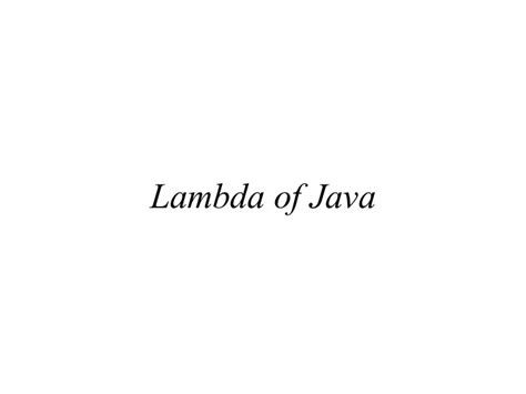java 8 lambda design pattern java 8 lambda