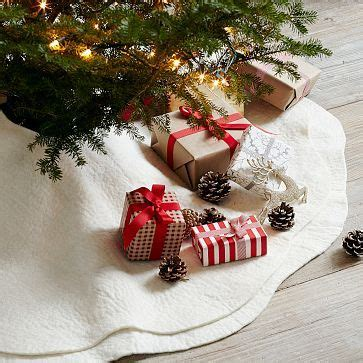 tree skirts felt tree and purl soho on pinterest