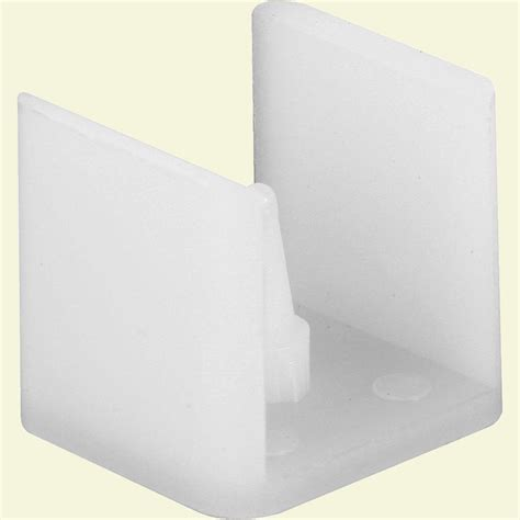 Sliding Shower Door Guide Prime Line Sliding Shower Door Bottom Guide M 6061 The Home Depot