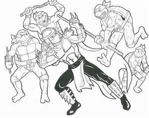 Le Tartarughe Ninja Da Colorare Bambini Piccoli Disegni Da Colorare Stampare Gratis
