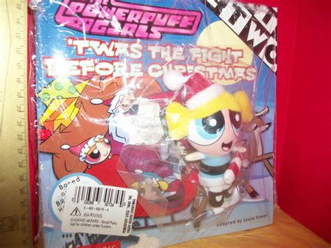mini christmas bubble powerpuff girls plush toy set christmas holiday book gift