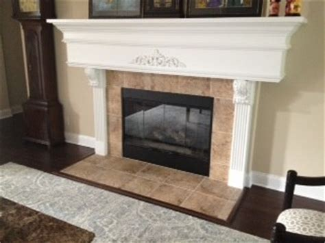Can You Tile A Fireplace by Can I Paint The Fireplace Tile