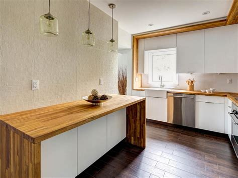 Diy Butcher Block Countertops For Stunning Kitchen Look Diy Kitchen Countertops