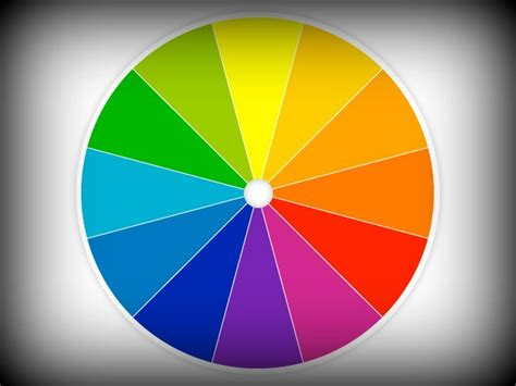 creative color wheel on the color wheel and a creative heart inspiration