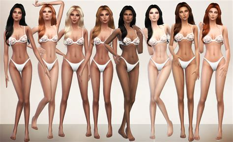 Cc Sims 4 Female Skin | the sims 4 custom content s4models page 3