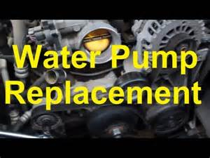 how to replace the water on a chevy gm vortec v8 4 8