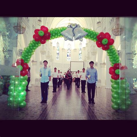 Balloon Arch Decorations by Wedding Decoration Balloons Singapore
