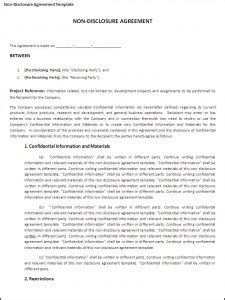 7 Free Non Disclosure Agreement Templates Excel Pdf Formats Best Nda Template