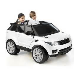 Toys R Us Electric Cars Bmw Avigo Range Rover Sport 12 Volt Powered Ride On White