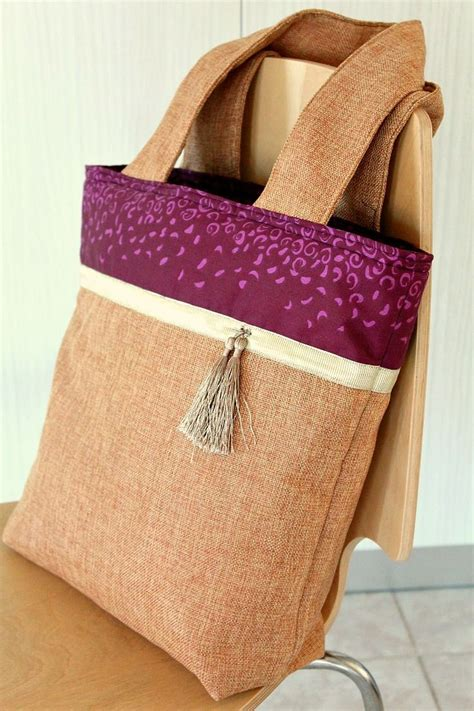 pattern for burlap tote bag 1000 images about bag lady on pinterest purse patterns
