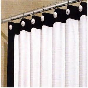 Shower Curtains White Fabric Curtain Drape Marburn Curtain Design