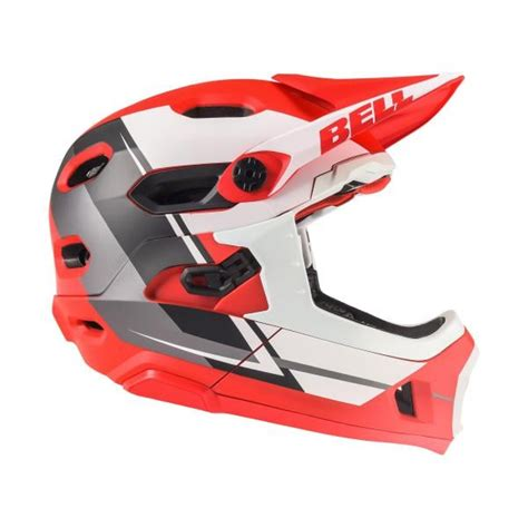 Helm Bell Dh Helm Bell Dh Mips Rot Wei 223 2018 Probikeshop