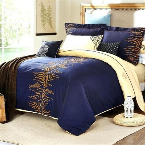 Set Luxury Navy blue and gold duvet covers de arrest me