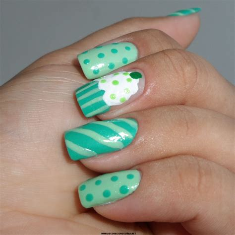 imagenes uñas decoradas verdes u 241 as pastel verde decoraci 243 n de u 241 as te ense 241 amos a