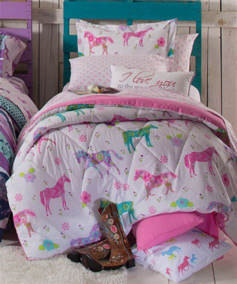 girl horse bedding girls horse bedding cowgirl pony bedding sets