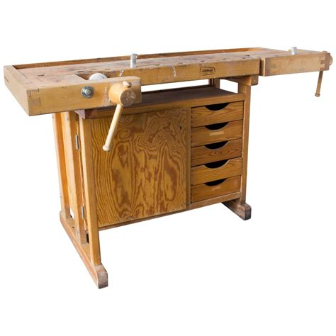 joiners work bench sj 246 bergs joiner s workbench at 1stdibs