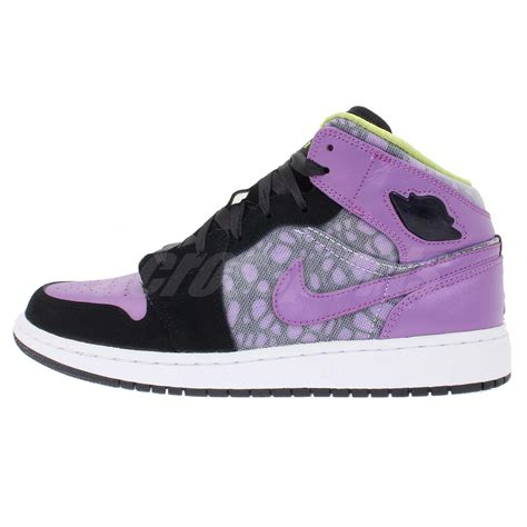 purple youth basketball shoes nike air 1 gs womens youth