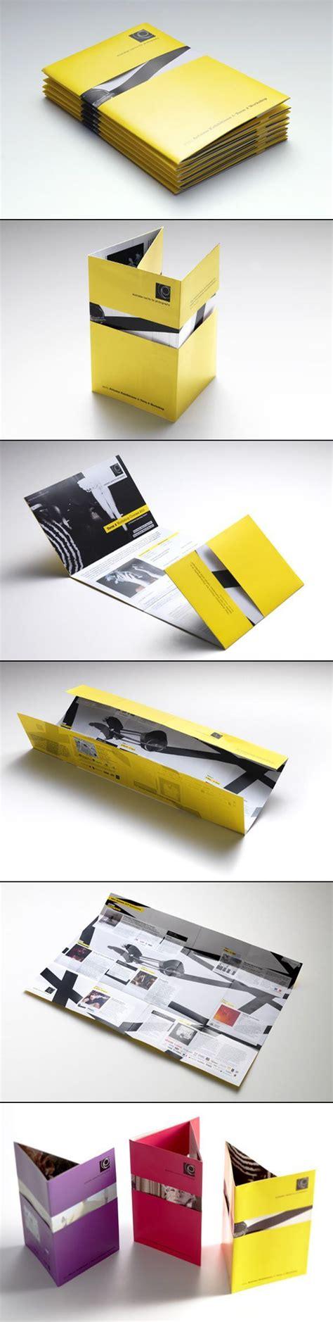 Unique Brochure Designs by Les Brochures Et Catalogues Avec Un Design Original