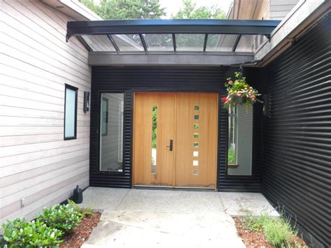 Canopy Front Door How To Choose The Glass Canopy For Your Front Door Glassonweb